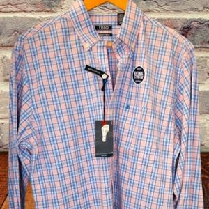 """Candy Pink / """"IZOD"""" Button down (New)"""
